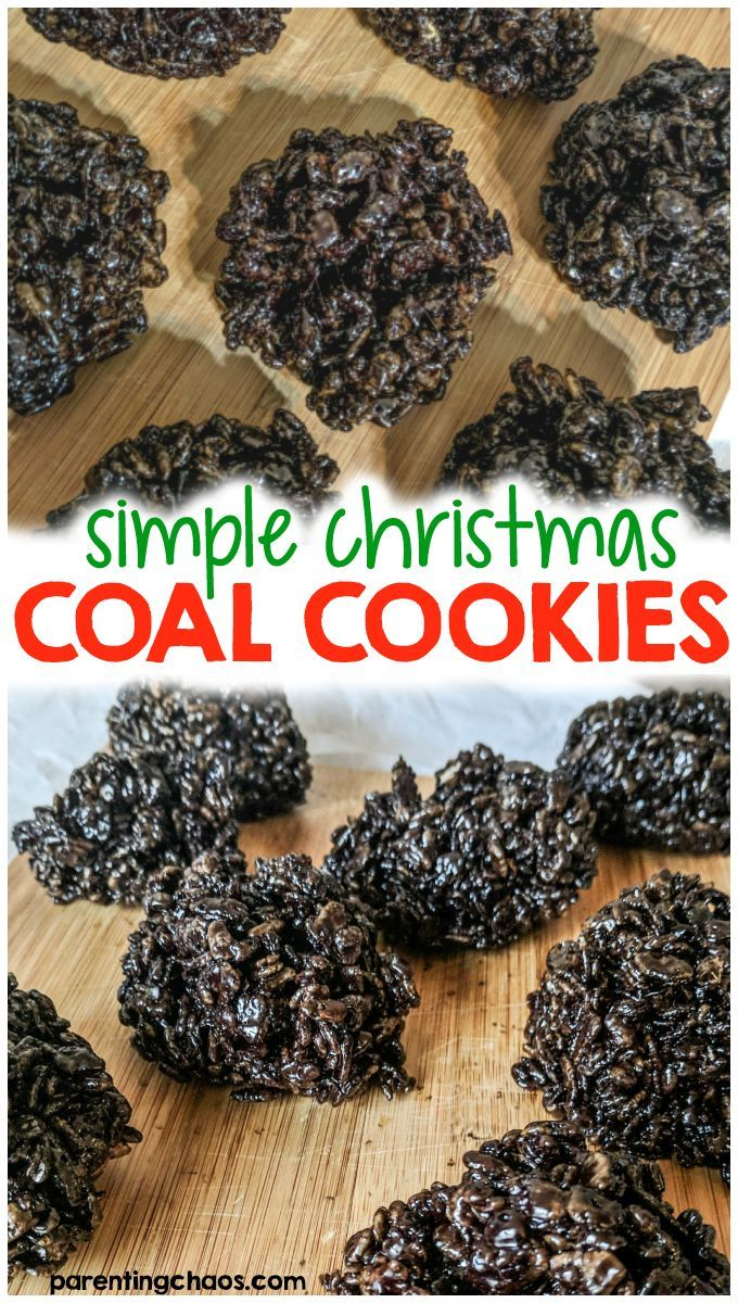 Coal Cookies Recipe C Is For Cookie Recipes Coal Cookies
