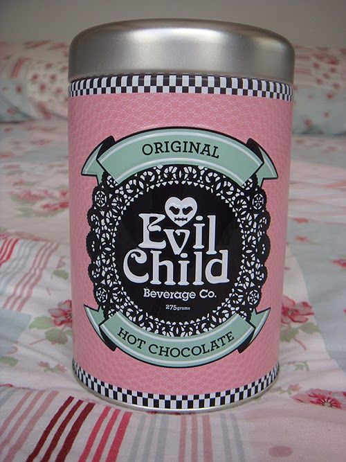 Evil Child Hot Chocolate.....so good, its evil!
