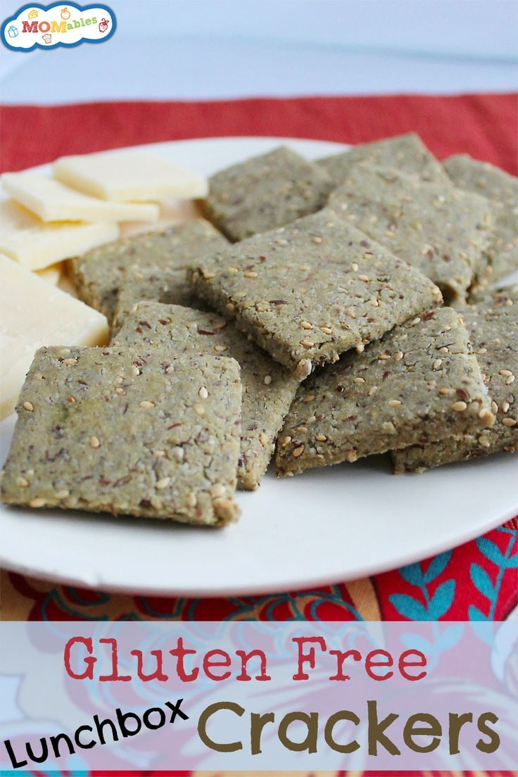 Easy Gluten-Free Lunch Box Crackers (Egg, Dairy, Nut-Free Too ...