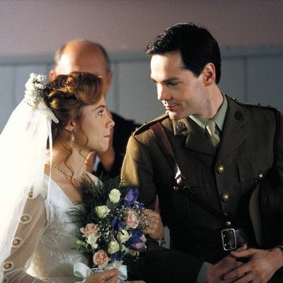 Anne (Megan Follows) and Gilbert (Jonathan Crombie), wedding scene