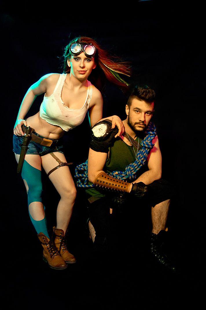 Cosplay 2014. Jako główna bohaterka Tequila oraz jej towarzysz, Adamah.  fot. Jakub Wilk (http://vilco.deviantart.com/)