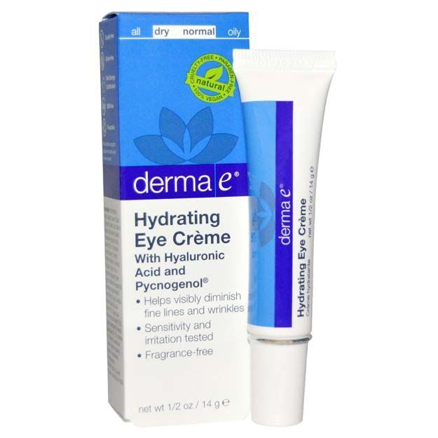 Best Beauty Products For Your 30s - Derma E Hydrating Eye Cream with Hyaluronic Acid - The Best Beauty Products and Tips and Tricks For Your 30s. Great Make Up And Skin Care Routines And Regimens For You To Look Young And Vibrant. Looking For The Best Skin-Care Routine For Your 30s? We Cover Routines That You Need To Follow For Anti-Aging As Well As Eye Products, Skin Products, and Face Cream to Stay Hydrated. Check Out These Tutorials To Know What To Do In Your 30s For Skin Care and Beauty…