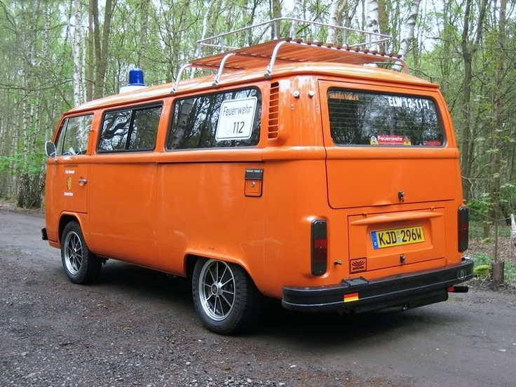 1980' (ex) Feuerwehr T2 Bus