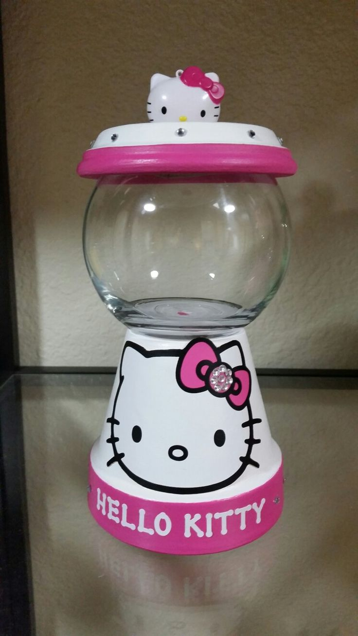 Hello Kitty Gumball Jar