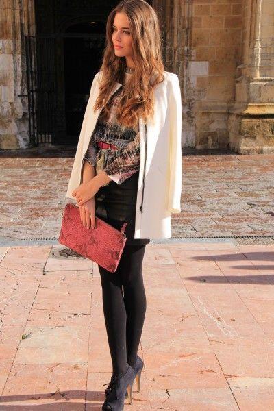 Clara Alonso, Model & Fashion Blogger. Blog: blogs.vogue.es/clara-alonso.