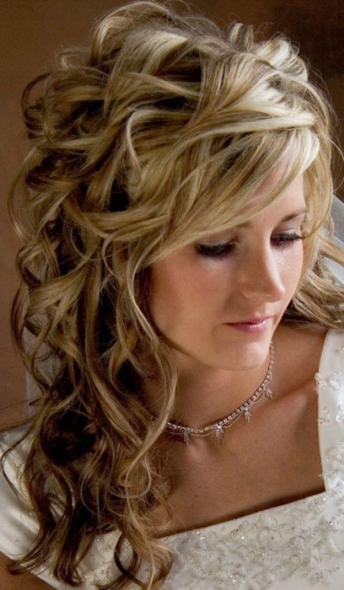 86 half up half down bridesmaid hairstyles stylish ideas