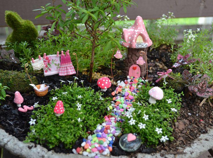 2467 best FAIRY GARDEN images on Pinterest   Fairies garden ...