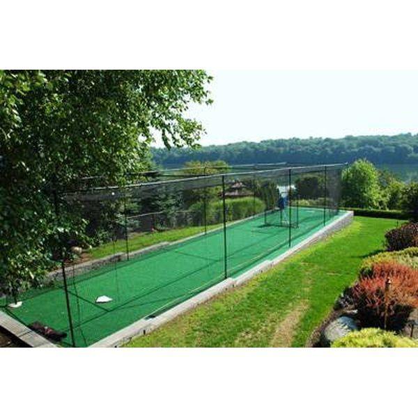 Backyard batting cage | Batting cage backyard, Batting ...