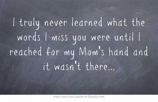 I miss my Mom! - Online Grief Support - A Social Community
