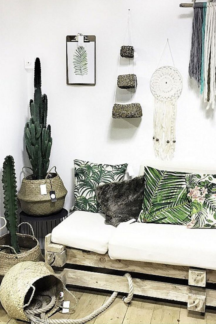 234 best urban jungle images on pinterest bedroom for Decoration urban jungle