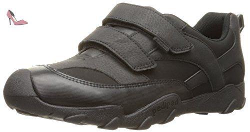 pediped Max, Sneakers Garçon - Noir - Noir, 31 EU