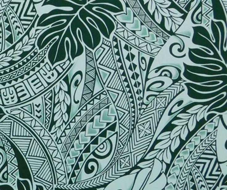 tapa fabric hawaii  polynesian tattoo  check it out at