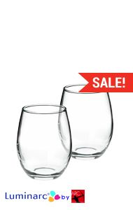 put chalkboard stickers on for guests nametable numbersalso would be guests oz perfection stemless wholesale wine glass
