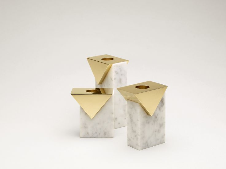 Invisible Cities Candleholders by Hava Studio