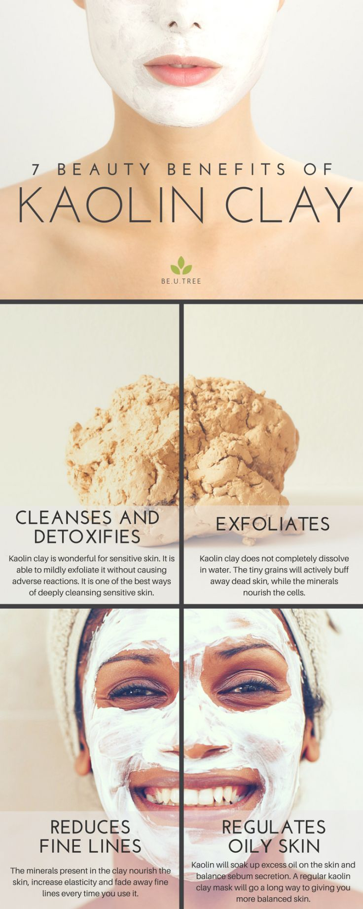 7 Reasons To Have More Kaolin Clay Skincare Days Anti Wrinkle Face Cream Kaolin Clay Benefits Treating Oily Skin