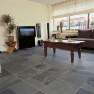 Vloertegel grijs woonkamer pinterest - Stoel tuin leroy merlin ...