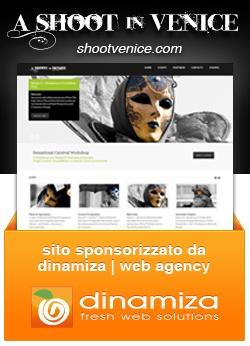 dinamiza sponsorizza il progetto www.shootvenice.it, un sito web per l'arte e la fotografia