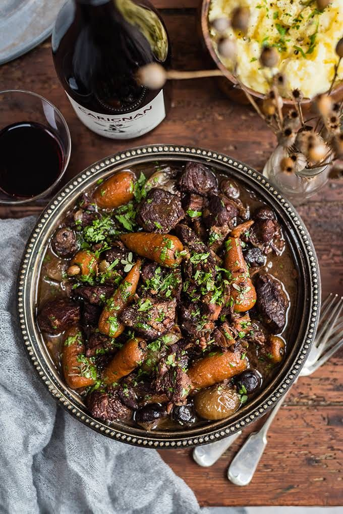 Yummly Personalized Recipe Recommendations And Search Recipe Beef Bourguignon Slow Cooker Beef Ultimate Beef Stew Recipe