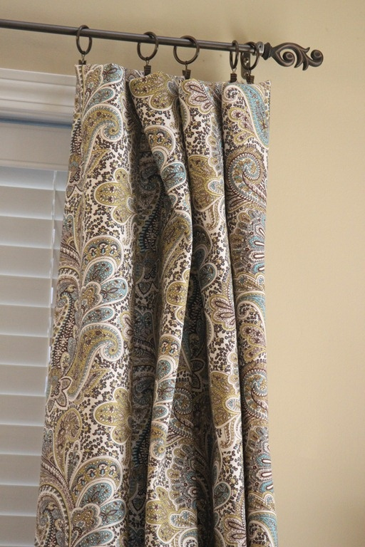 No Sew Curtains Diy Home Decor Pinterest