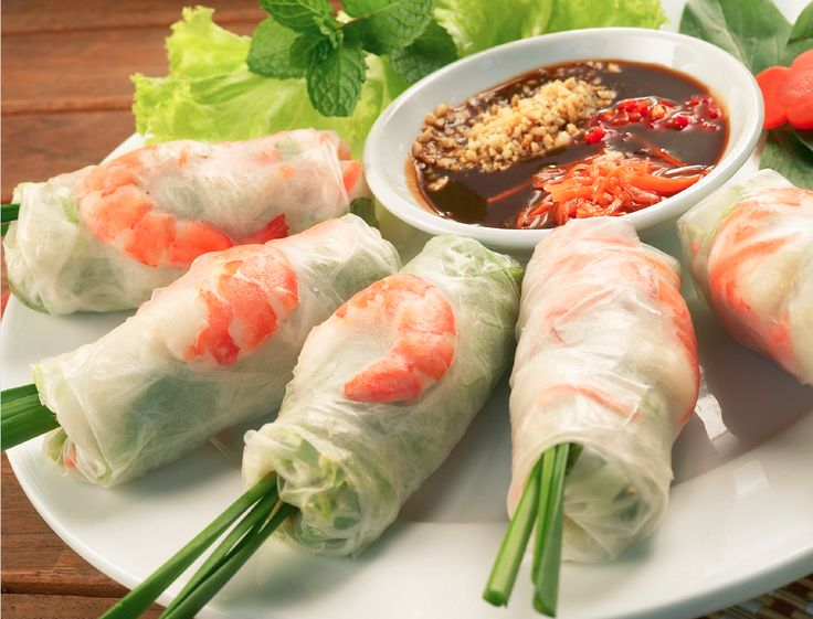 Vietnamese Spring Rolls - Learn more in the Slendier Information Centre. Recipes, articles and videos for a healthy lifestyle.