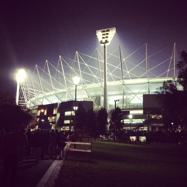 The Melbourne Cricket Ground!