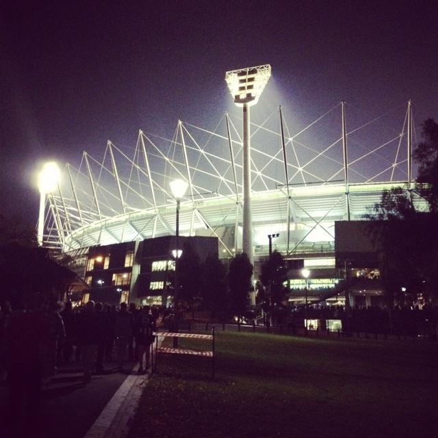 The Melbourne Cricket Ground!