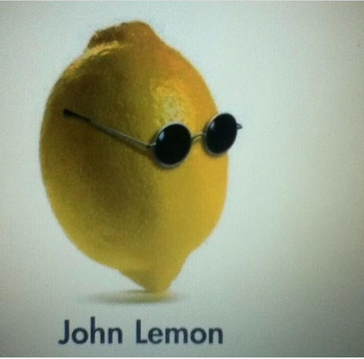 John Lemon Pun - funny joke pictures