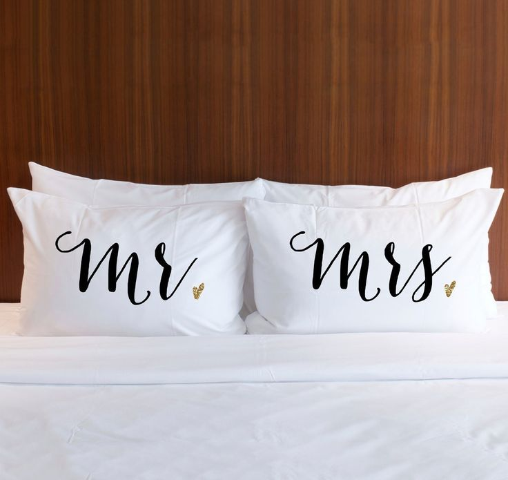 Pillowcases Gift Set for Couples Better Together