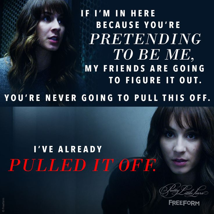 Pretty Little Liars quotes Spencer Hastings, evil twin Alex Drake, 'Til Death Do Us Part, series finale, 7x20, A.D. reveal, #PLL