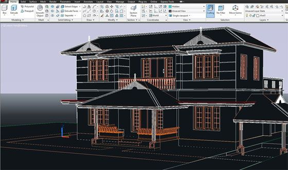 An Exclusive Autocad Course On 2d And 3d Elevations Cad