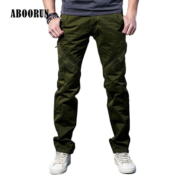 US $28.82 ABOORUN Tactical Men's Pants Cargo Casual Jeans Combat Work Pants Mens Long Trousers with Zippers Military Army W4074 #ABOORUN #Tactical #Men's #Pants #Cargo #Casual #Jeans #Combat #Work #Mens #Long #Trousers #with #Zippers #Military #Army #W4074