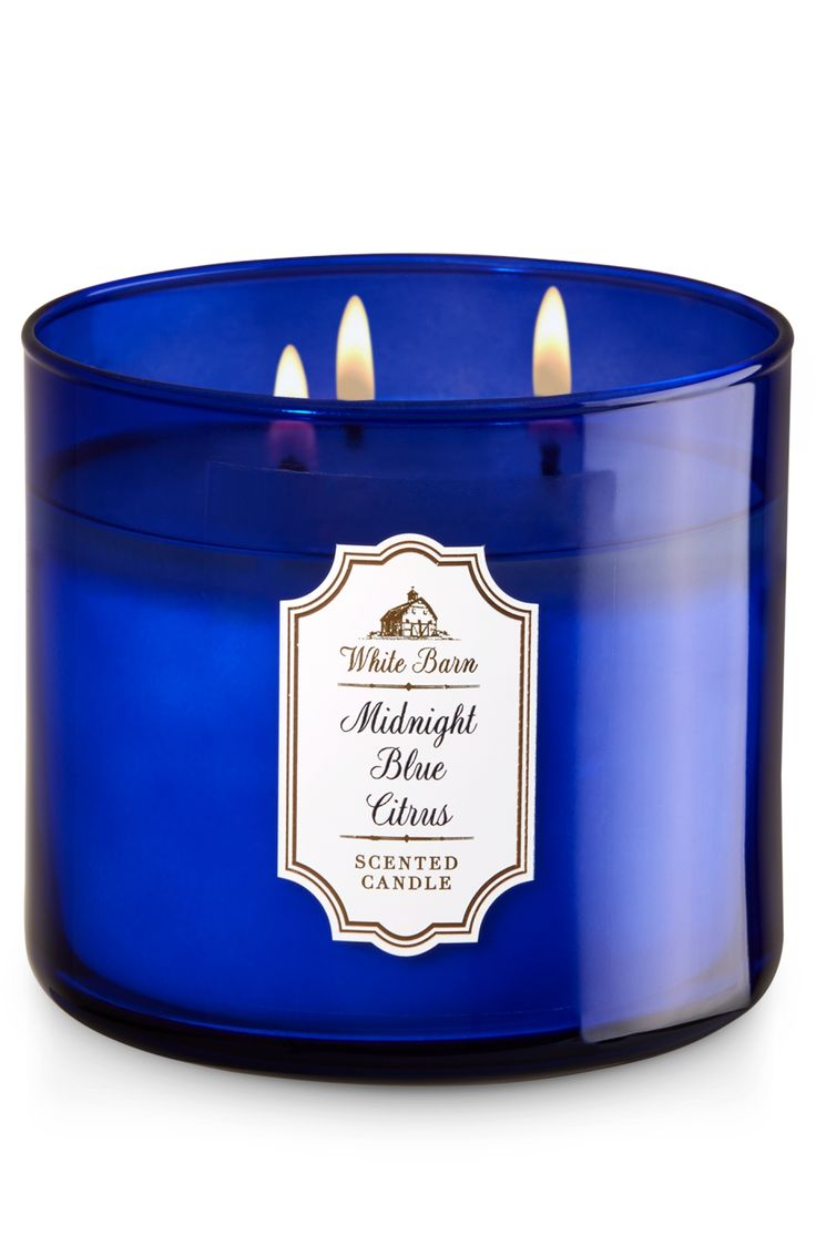 Midnight Blue Citrus 3-Wick Candle - Home Fragrance 1037181 - Bath & Body Works