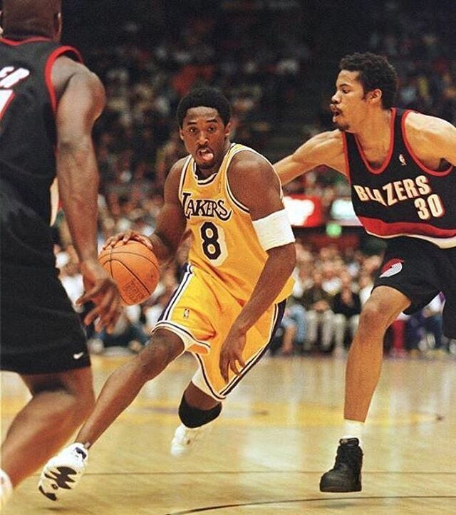 Kobe Bryant vs. 'Sheed Wallace!