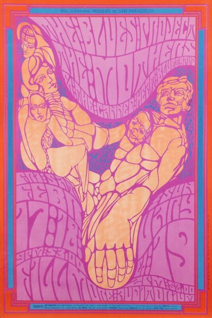 The Blues Project, The Mothers and Canned Heat, the Fillmore Auditorium, San Francisco (1967)