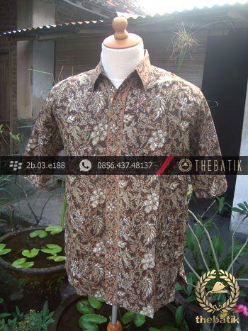 Kemeja Batik Motif Kontemporer-4 | #Indonesia Men Women #Batik Tops Shirt #Clothing http://thebatik.co.id/baju-batik/