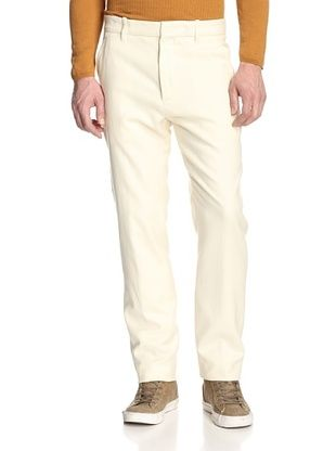 80% OFF Ann Demeulemeester Men's Slim Fit Trousers (Clemens Ivory)