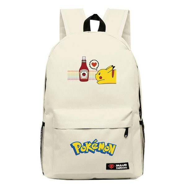 High Quality New Fashion Pokemon Backpack For Teenagers