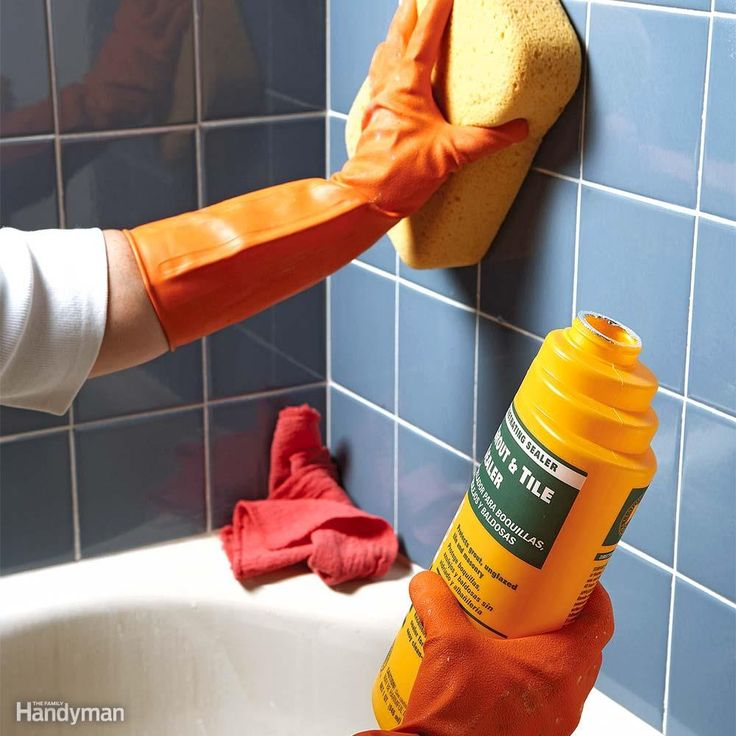 To prevent mold around the tub or shower, spray the wall with an antimicrobial treatment, then seal the grout with two coats of grout sealant to keep water from wicking in. If the mold is extensive and tiles come off, rebuild the wall with cement board tile backer and new tile. If the wall is sound but the mold stains won't go away, try regrouting. Scrape out the caulk and stained grout, spray the wall with antimicrobial treatment, regrout and caulk, and then coat the whole wall with grout…