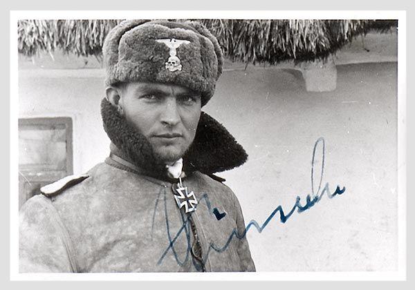 Max Wünsche - near Kharkov 1943