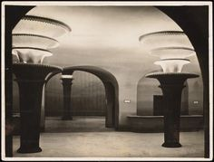 Grosses Schauspielhaus , Berlin , Germany , c . 1920 . Designed by Hans Poelzig
