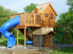 Joelu0027s Play Structure From Make A Wish! Outdoor Play StructuresKids ...