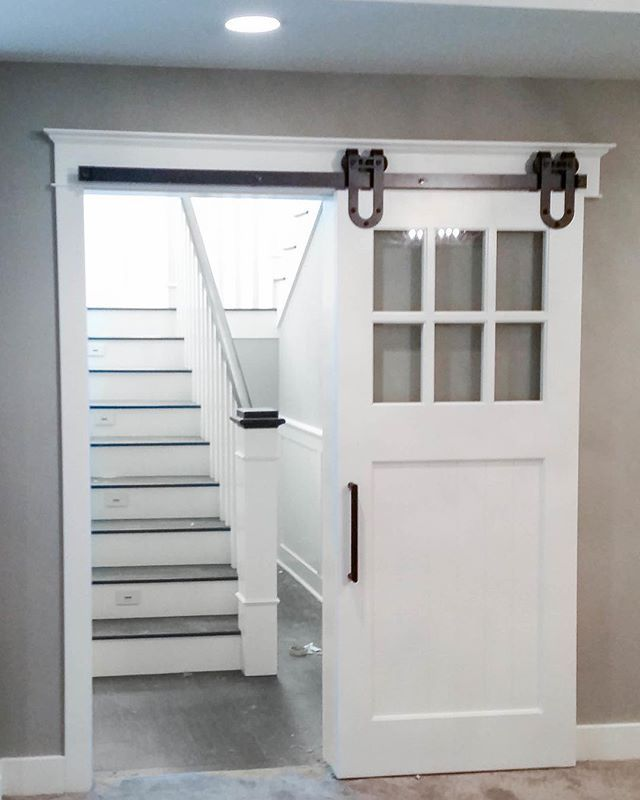 Lovely Door to Basement Stairs