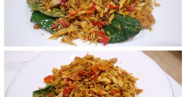 Resep Ikan tongkol suir pedas favorit.