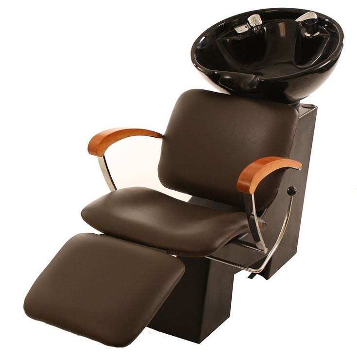 Cc2006t shampoo chair with footrest attachment and bowl