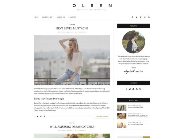 12 best 15+ Best Free Personal Blog WordPress Themes images on ...