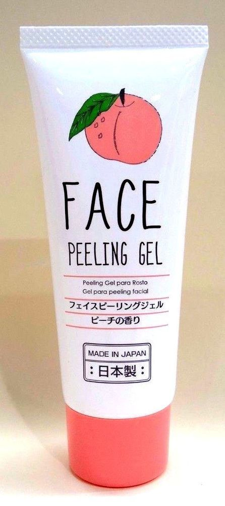 DAISO JAPAN Face Peeling Gel Scent of peach made in Japan F/S #DAISO