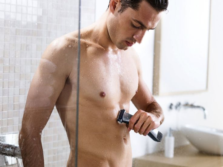 Many men are seeking a fashion male model body without any hair. Learn 4 professional body shaving tips to keep your skin smooth after shaving.