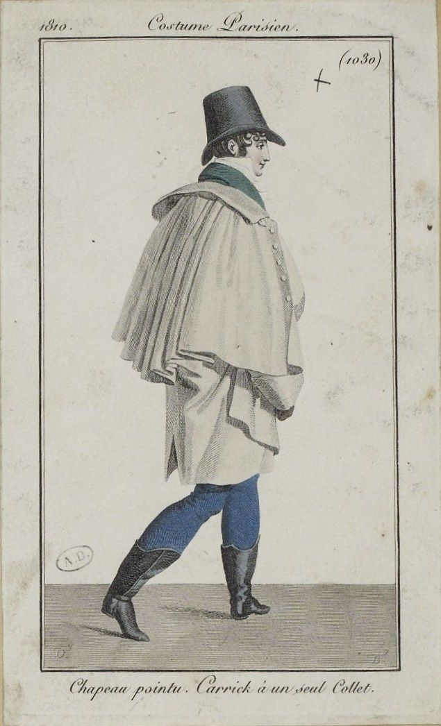 Costume Parisien (1030), 1810.