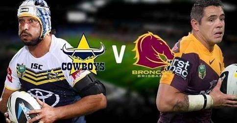 COWBOYS V BRONCOS @ MACKAY ON SAT 7TH FEB! Book your tickets now! @nqcowboys #footy #cowboys #broncos #mackay