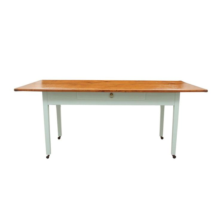 Country Style Palladium Blue Farm Table - Image 7 of 7